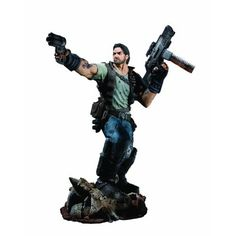 Amazon.com: DC Unlimited Starcraft Premium Series 1 Collectible Figure: Jim Raynor: Toys & Games