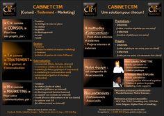 Présentation de la Sarl CABINET CTM (suite) Sarl, Marketing, Solution, Cabinet, Management, Clothes Stand, Closet, Cupboard, Vanity Cabinet