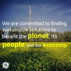 We think cutting edge technology is essential in delivering environmental and economic gains.