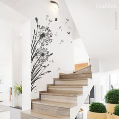 Wall decal pusteblume with flying seeds dandelion butterflies wall sticker wall sticker wall sticker decal tattoo sticker decoration wall art Simple Wall Paintings, Creative Wall Painting, Wall Painting Decor, Wall Decor, Dandelion Wall Decal, Wall Tattoo, Tattoo Sticker, Vinyl Wall Decals, Decals For Walls