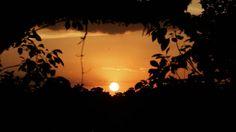 Argentina Profunda en toda su belleza. We arrived in time to enjoy this sunset