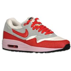 separation shoes 175ca a572b Nike Air Max 1 - Womens - SailStrata GreyIced CarmineHyper