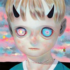 Hikari Shimoda & Nouar at the Corey Helford Gallery- Yay! LA