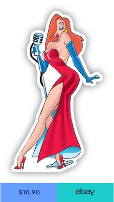 Jessica And Roger Rabbit, Jessica Rabit, Jessica Rabbit Tattoo, Cartoon Stickers, Cartoon Art, Cartoon Characters, Mystic Messenger Memes, Rabbit Tattoos, Funny Tattoos