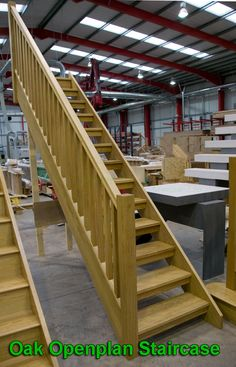Best Oak Staircase With Open Risers Compliant With Uk Building 400 x 300