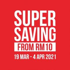 Brands Outlet Super Saving Sale As Low As RM10 from 19 March 2021 until 4 April 2021 Taiping, Brands Outlet, Special Promotion, Fashion Sale, March, Mac