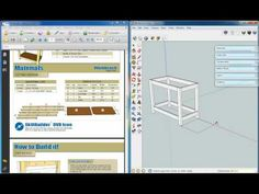 sketchup woodworking component library