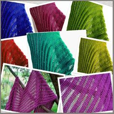 """...Knitting Up A Storm: Revised """"Dummy Clap Shawl"""" pattern & video tutorial!"""