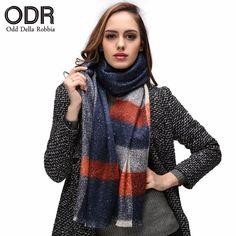>> Click to Buy << Odd Della Robbia Fashion Brand Scarf British Charming Shawls Winter Scarf Plaid Women Soft Scarves Stole Warm Long Scarf C020 #Affiliate