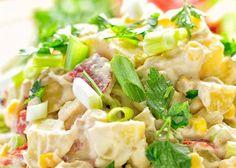 Je vous propose aujourd'hui, d'essayer cette délicieuse salade santé et crémeuse qui est vraiment facile à faire! Cooking Photography, Pasta Salad, Potato Salad, Potatoes, Cooking Recipes, Lunch, Meals, Ethnic Recipes, Hui