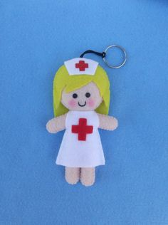 chaveiro personalizado - enfermeira - encomendas pela minha página no facebook  https://www.facebook.com/Boutique-Geek-190519287960073/?fref=ts
