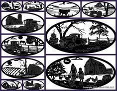 farm scenes for steel