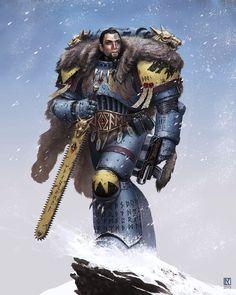 bolt_pistol chainsword imperium nicholaskay space_marines space_wolves winter