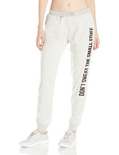 MINKPINK Women's Don't Sweat It Sweatpant, Grey Marle, XS...