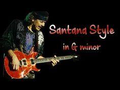 Easy Guitar Songs, Guitar Tips, Music Guitar, Guitar Chords, Guitar Lessons, Blues, G Minor, Music Tabs, Carlos Santana