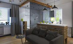 Návrh bytu s rozlohou 30 m2 .Zaujímavosťou je, želôžko je oddelené posuvnou … Čítať ďalej
