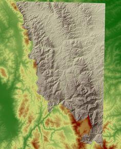 DTM delle dorsali appenniniche Marchigiane, Montemonaco, 2006 - Alberto Antinori