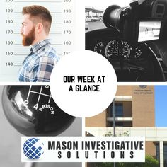 Private Investigator in Gilbert, AZ. Mason Investigative Solutions. What did we do this week? We captured a fugitive, investigated a fatal car accident, conducted several background checks, and followed a cheating spouse.