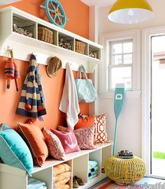 Entryway-love this color