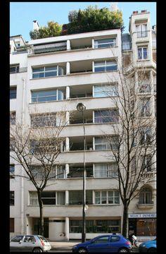 Immeuble d 39 habitation 1931 1932 25 avenue de versailles for Architectes versailles