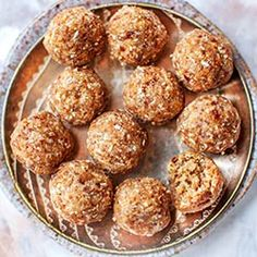 Sweet Recipes, Vegan Recipes, Vegan Food, Healthy Sweets, Healthy Food, Polish Recipes, Protein Bars, Baked Goods, Muffin