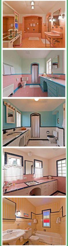 Colorful bathrooms #bathroom #bathroomcolors