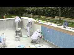 Construcción de piscina en barriada Santa María Parte 1 - YouTube