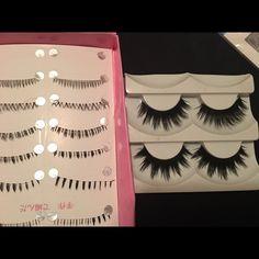 Mink eyelashes top and bottom Brand new mink bottom lashes and top lashes Makeup False Eyelashes