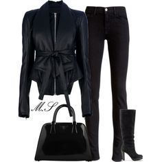 """bLACK"" by mohamed-el-saka on Polyvore"