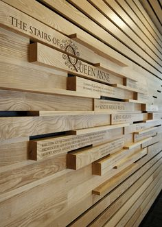 Great concept for a donor wall!