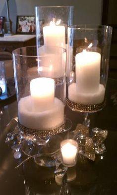DIY Winter wedding centerpiece we did Keywords: #weddings #jevelweddingplanning Follow Us: www.jevelweddingplanning.com  www.facebook.com/jevelweddingplanning/