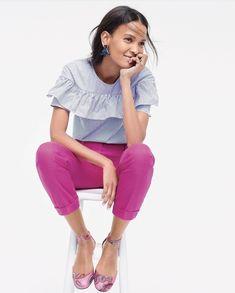 Pink c listrado