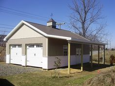 Metal buildings shops with living quarters and build garage shelves plans - Check Out THE PICTURE for Lots of Tips and Ideas. Pole Barn Shop, Pole Barn Kits, Metal Pole Barns, Metal Garage Buildings, Pole Barn Designs, Pole Barn Garage, Pole Barn House Plans, Pole Buildings, Metal Garages