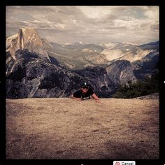 By littlecalzone Caption: I cox. I run. I climb Yosemite. A typical day powered by cliff bars #traveloffsf