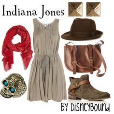 Indiana Jones, created by lalakay on Polyvore