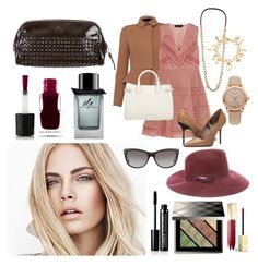 """fashion look n241."" by alemcboss ❤ liked on Polyvore featuring Burberry"