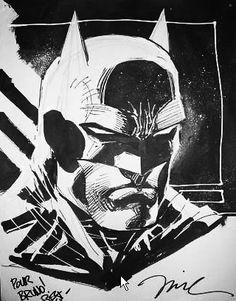 Batman sketch   Jim Lee   #BATMAN