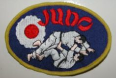 Judo Embroidered Patch by Shihan. $2.99