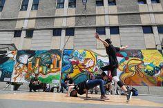 HIV Street Art – campanie pentru testare HIV la Timisoara