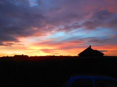 sunset from home...