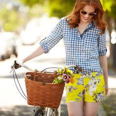 Spring… check! Next stop: summer. Prep for the new season in fresh, preppy summer gingham.