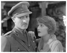 Still from the 1925 silent film The Dark Angel.  The film is lost.