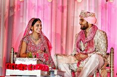 indian-wedding-bride-and-groom-pink-outfits