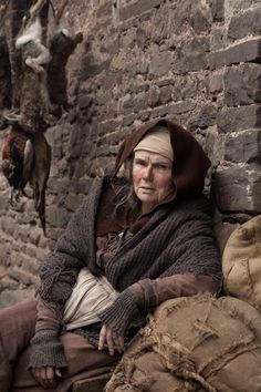 "Julie Walters as Mistress Quickly in ""The Hollow Crown - Henry IV part"""
