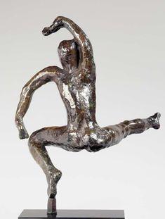Auguste Rodin, Tanzstudie F, um 1911 (Guss 1952), Bronze, Sandguss, 33 x 22,5 x 20,6 cm (Musée Rodin, Paris Foto: Christian Baraja) Auguste Rodin, Antoine Bourdelle, French Sculptor, Principles Of Art, Bronze, Edgar Degas, Albrecht Durer, Dance Art, Renaissance Art