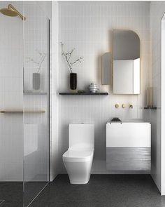 Minimalist bathroom ideas gray bathroom with modern white tiles minimalist small bathroom design ideas . Minimalist Bathroom Design, Bathroom Layout, Modern Bathroom Design, Bathroom Interior Design, Bathroom Designs, Modern Minimalist, Tile Layout, Tiny House Bathroom, Small Bathroom