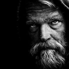 Haunting Black and White Portraits of Homeless People by Lee ...
