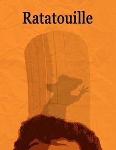 this animated film. Ratatouille Movie Poster, via Minimalist Movie PostersLove this animated film. Ratatouille Movie Poster, via Minimalist Movie Posters Film Disney, Arte Disney, Disney Art, Disney Pixar, Film Movie, Ratatouille Movie, Poster Minimalista, Minimal Movie Posters, Disney Posters
