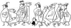 Gerald McBoing-Boing directed by Bobe Cannon Retro Cartoons, Old Cartoons, Vintage Cartoon, Illustration Ligne, Line Illustration, Illustration Inspiration, Bobe, Cartoon Styles, Concept Art