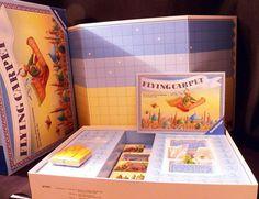 1988 Retired Ravensburger Flying Carpet Fantasy Board Game Rare Excellent 011711 #Ravensburger